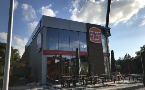 De werken aan de Burger King van Ninove zijn bijna klaar.